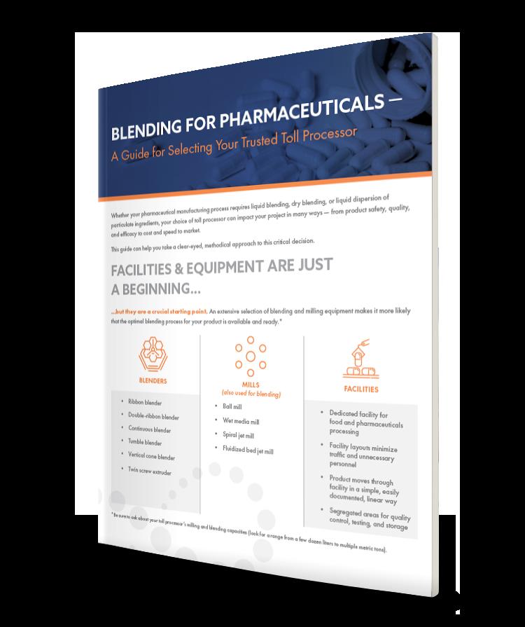 Cover_Blending for Pharamaceuticals