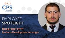 CPS Employee Spotlight: Durango Petit