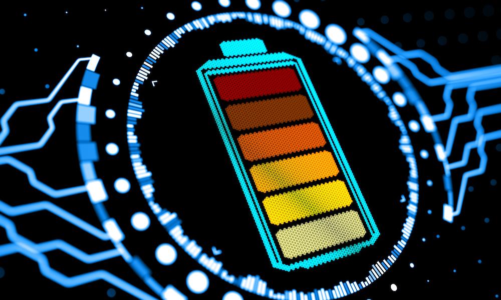 battery energy level
