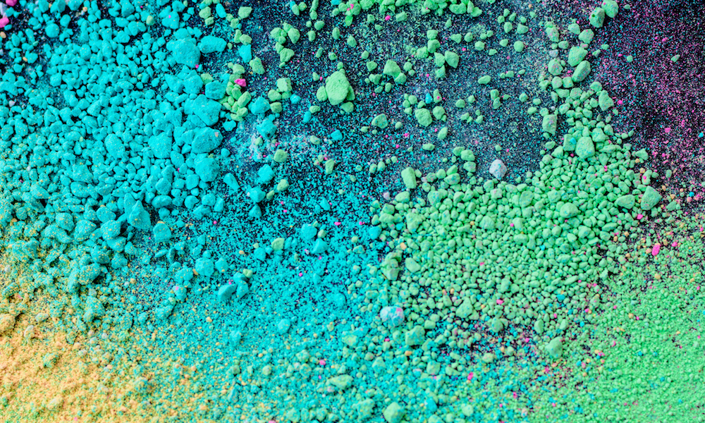 Milling pigments